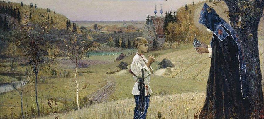 «Видение отроку Варфоломею». 1889—1890