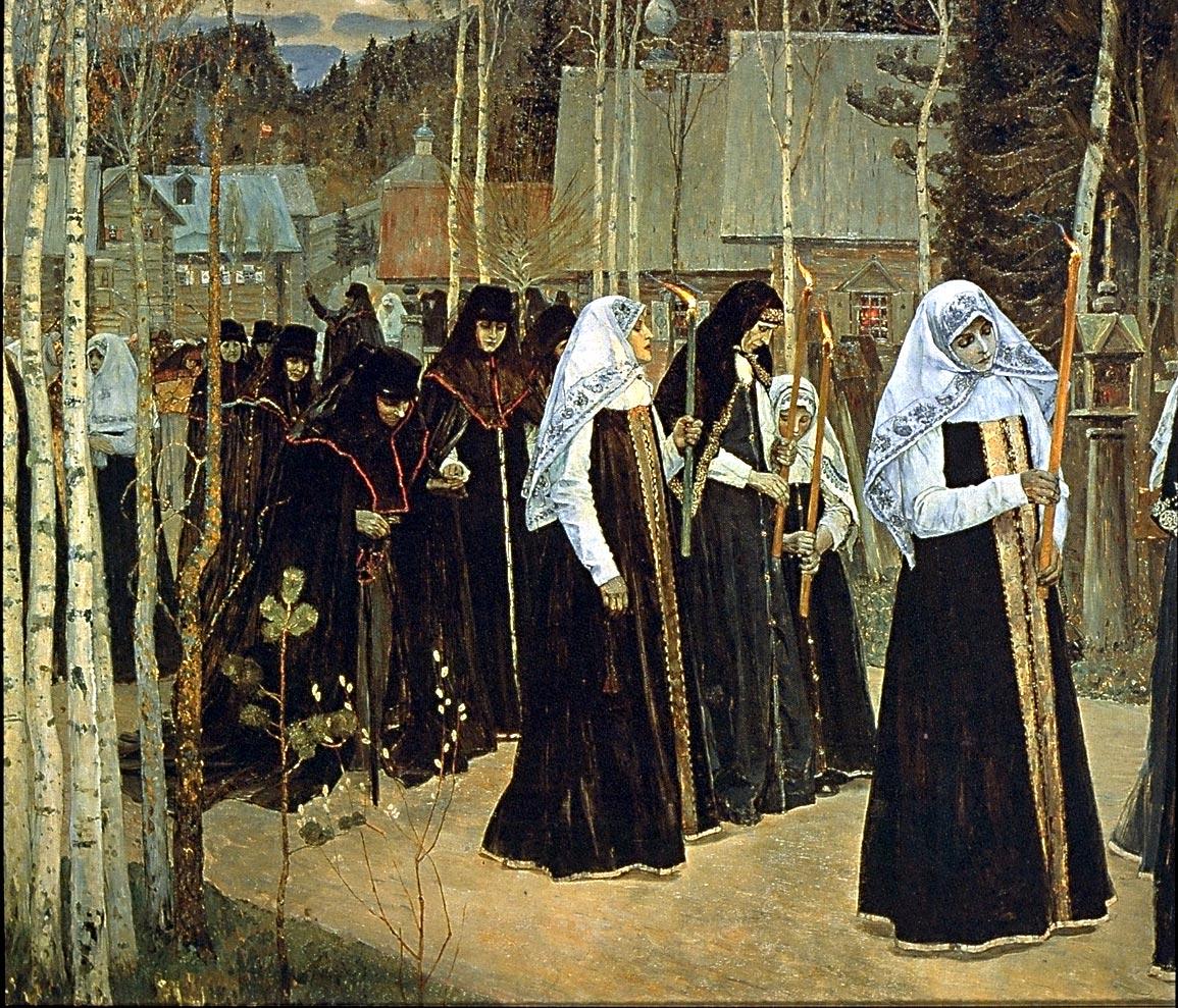"""""""Великий постриг"""". 1898"""