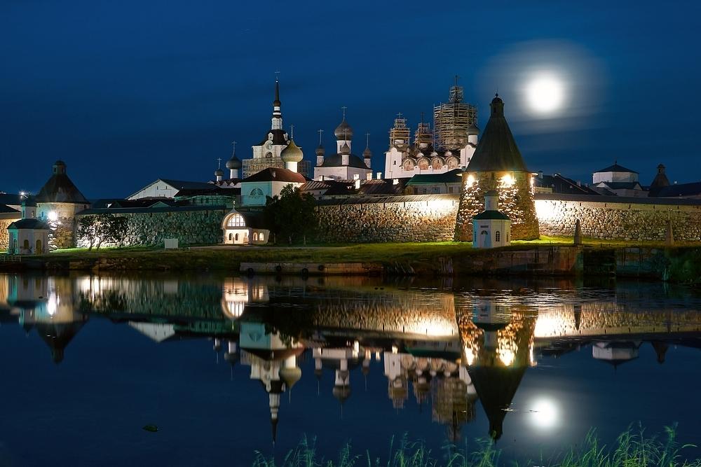 Соловки. Крепость-монастырь