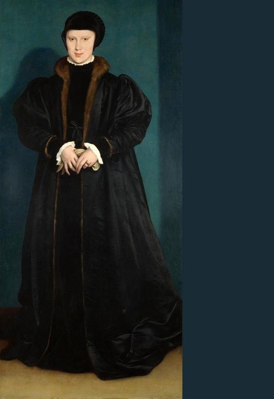 Портрет Кристины Датской