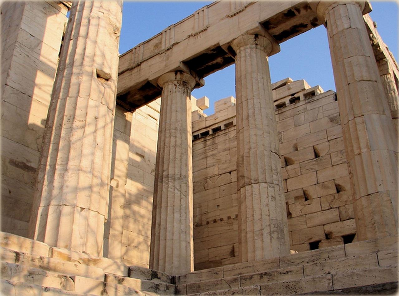 пропилеи афинского акрополя картинки современных коттеджей