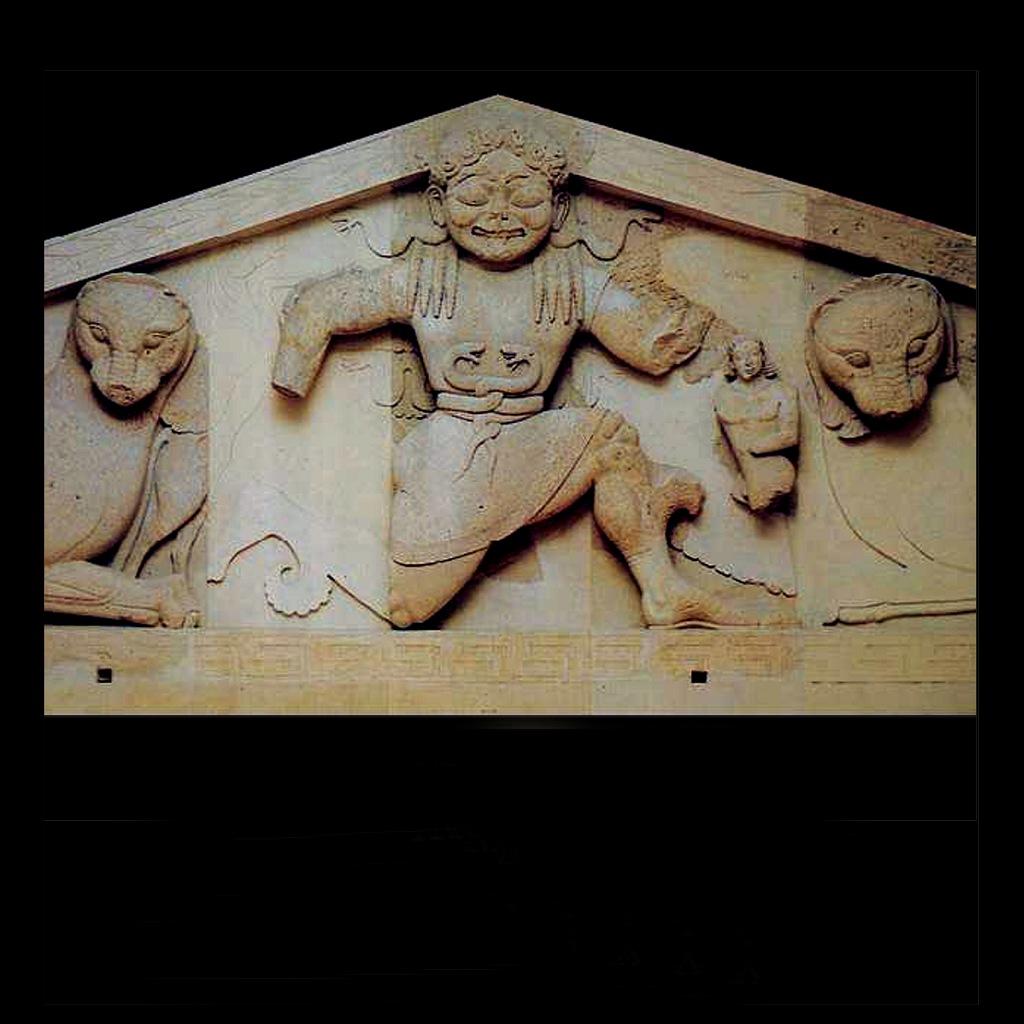 Остров Корфу. Храм Артемиды