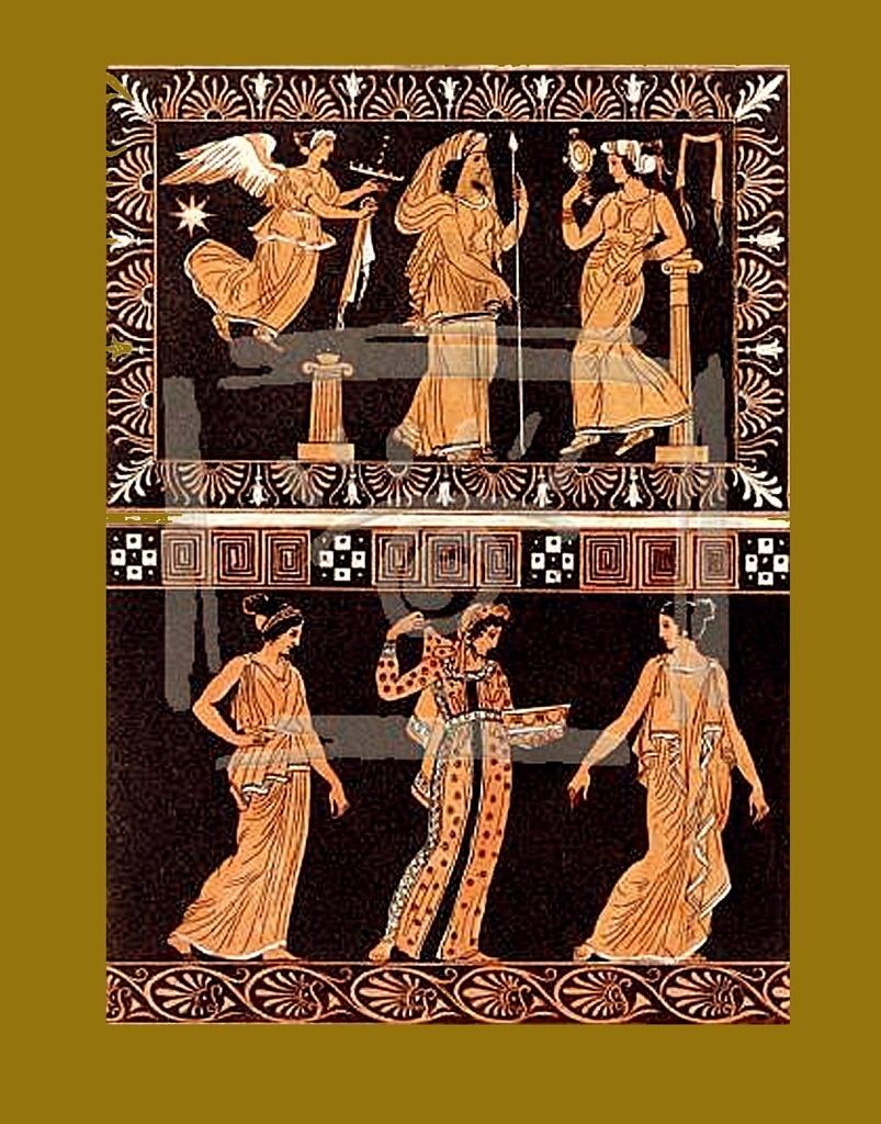 Одеяния древнегреческих цариц