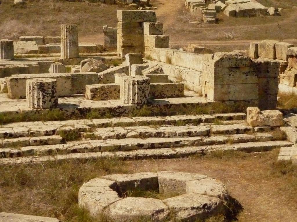 Античные храмы в Селинунте