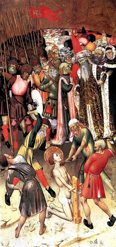мученичество св. Георгия
