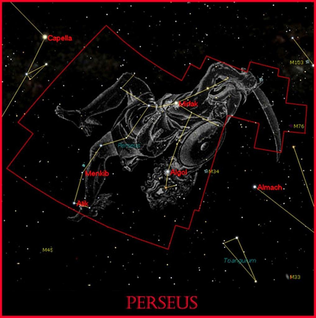 """""""Персей"""" — созвездие северной части неба."""