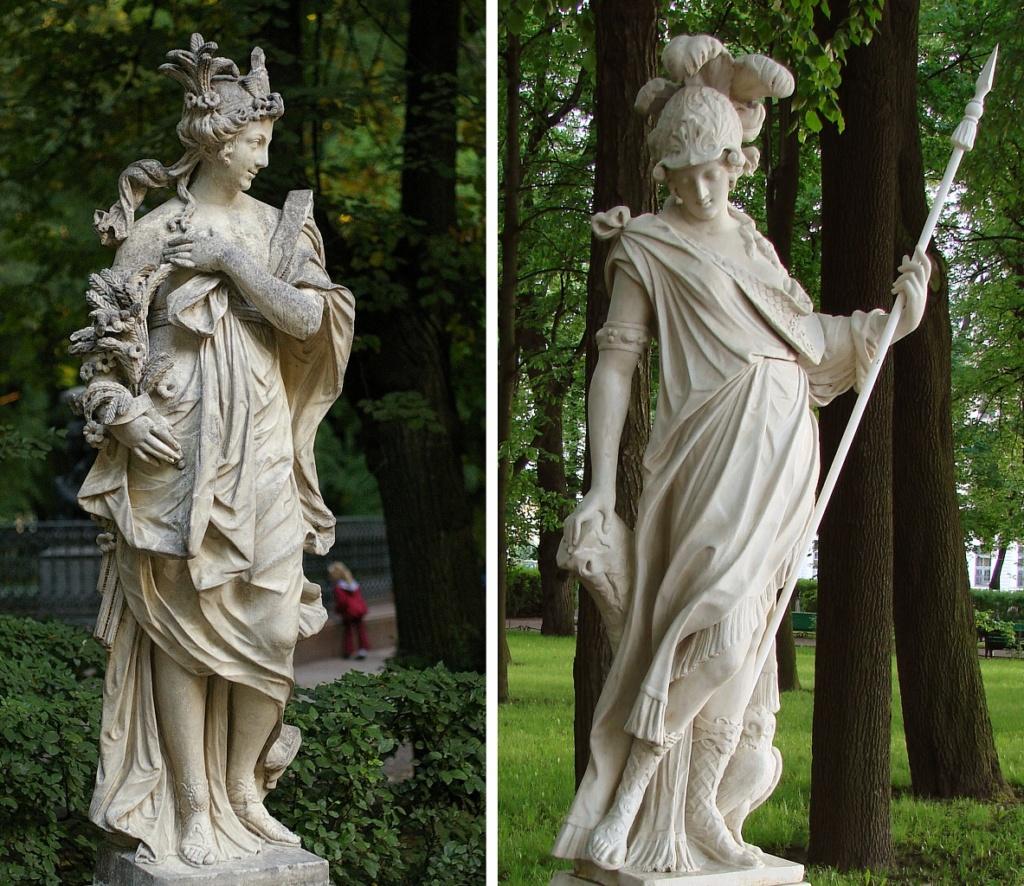 Статуя Минерва