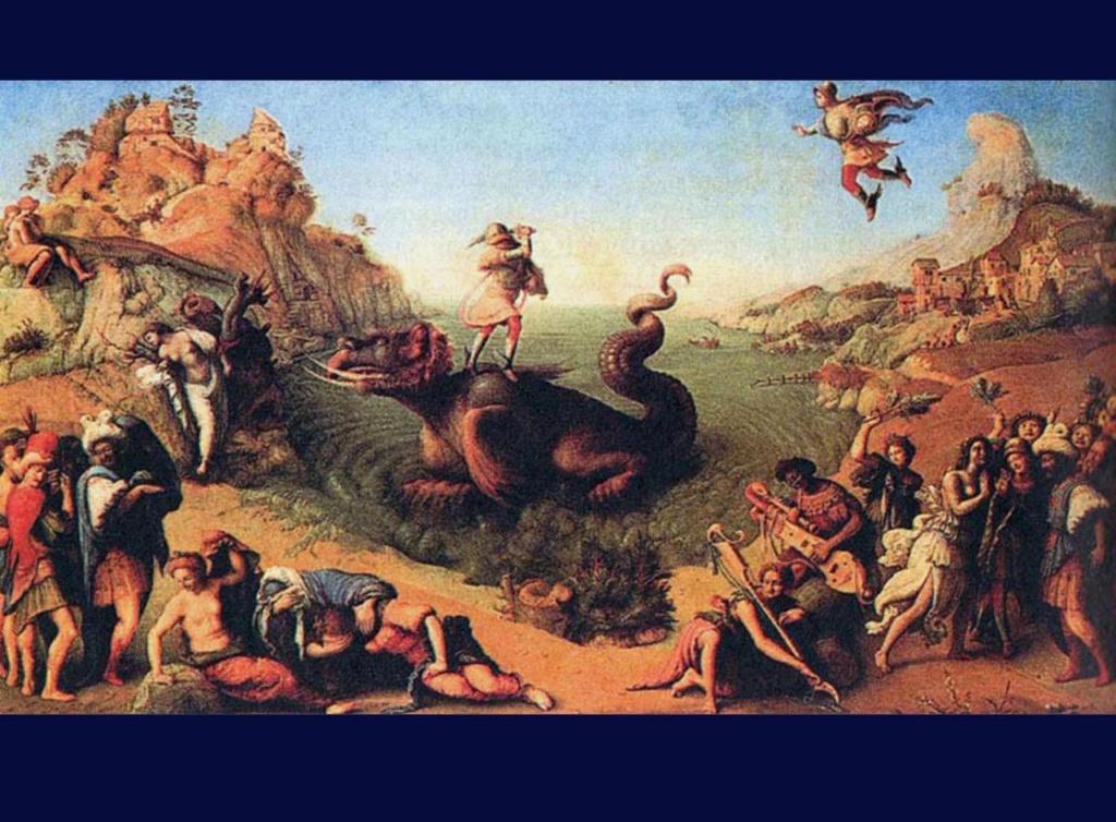 Персей, спасающий Андромеду