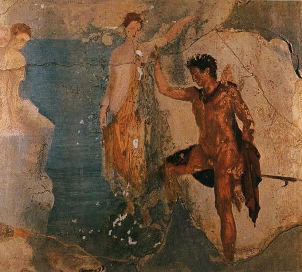 Помпейская фреска