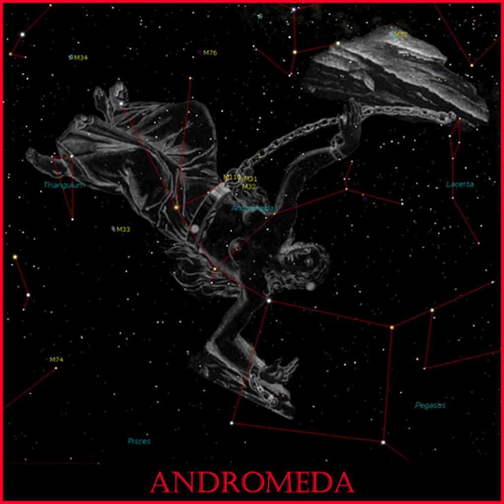 Андроме́да — созвездие северного полушария неба.