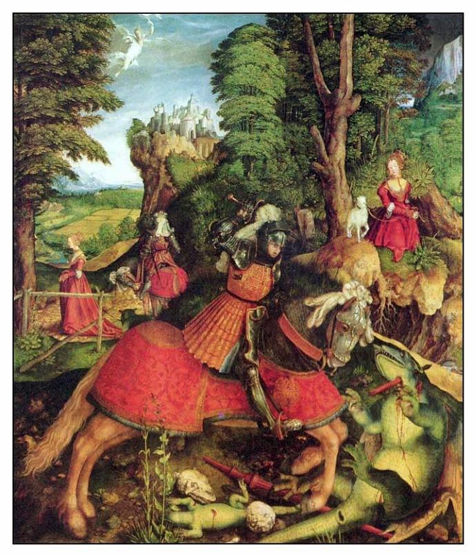 Поединок Св. Георгия с драконом
