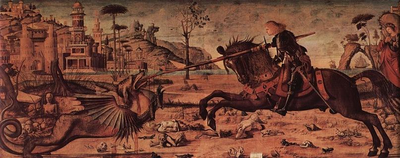 Поединок святого Георгия и дракона