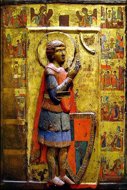 Византийская икона Св. Георгия