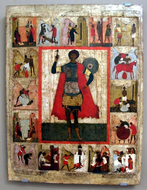 Древнерусская икона Св. Георгия