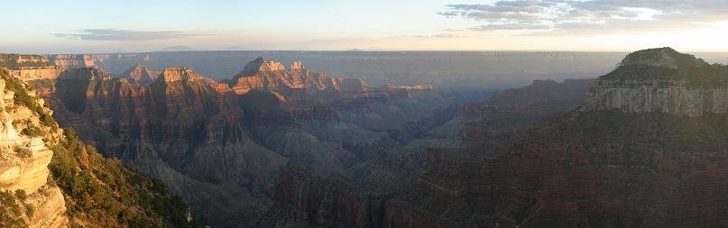 США - Большой каньон и его росписи...