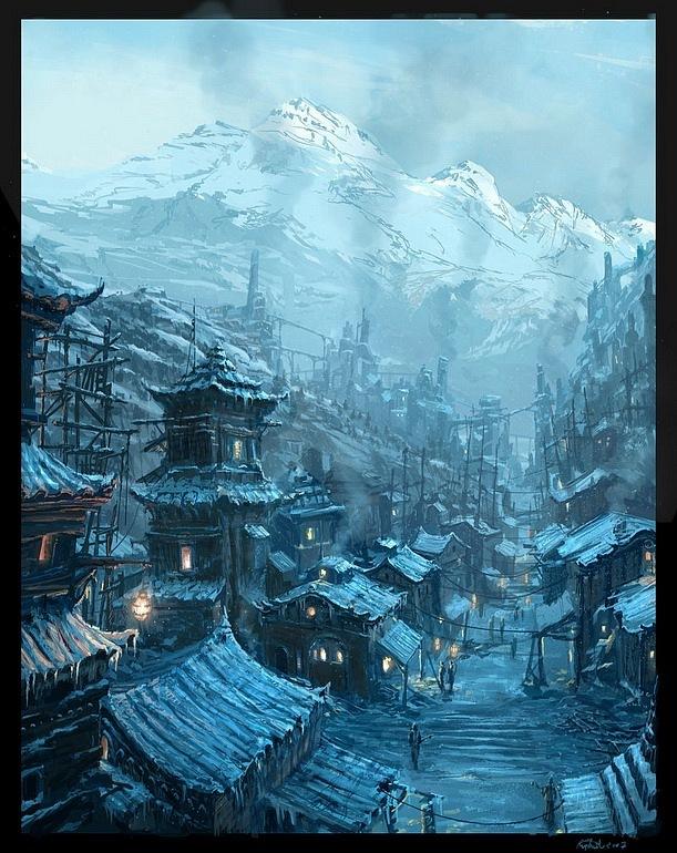 Рафаэль Лакоста. Китайская деревня...