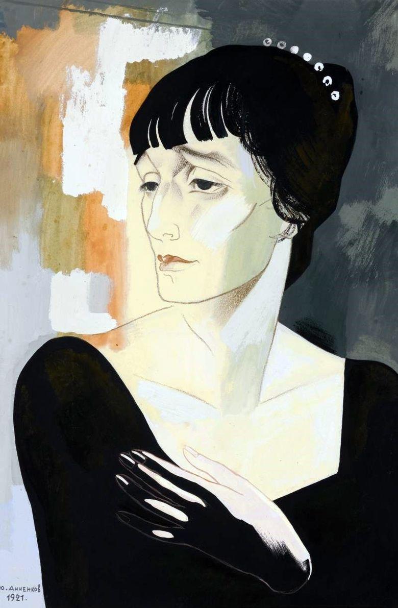 портрет Ахматовой